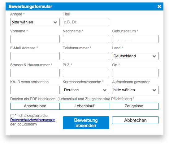 connectoor-fenster-bewerbungsformular