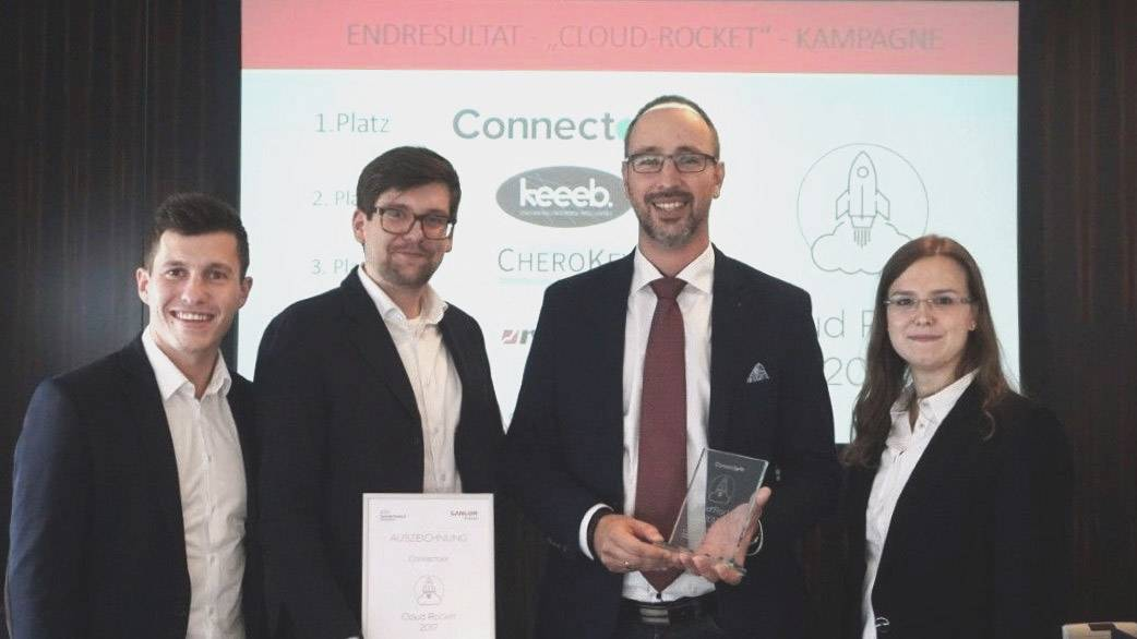 Cloud Rocket Award 2017 an die jobEconomy GmbH