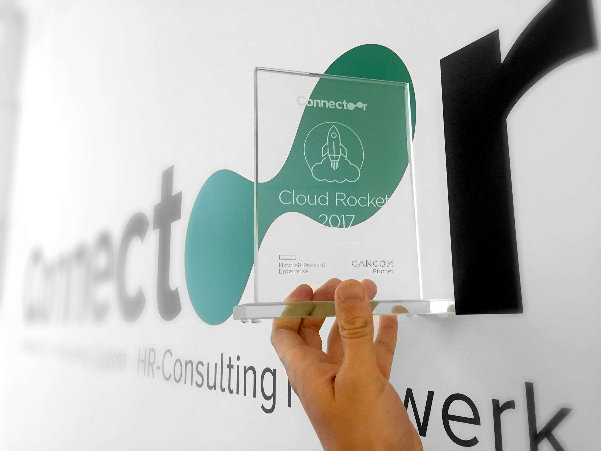 Cloud Rocket Award 2017 für den Connectoor