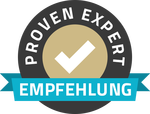 Proven Expert Empfehlung