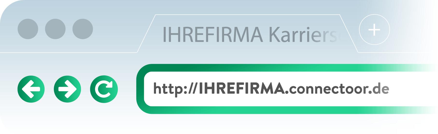 Connectoor-Karrierseite-eigene-URL