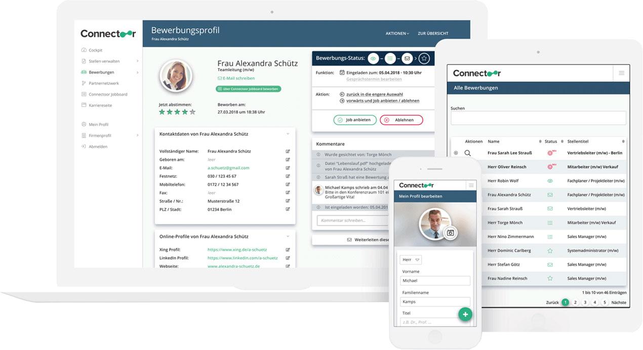 Connectoor - Die HR-Komplettlösung