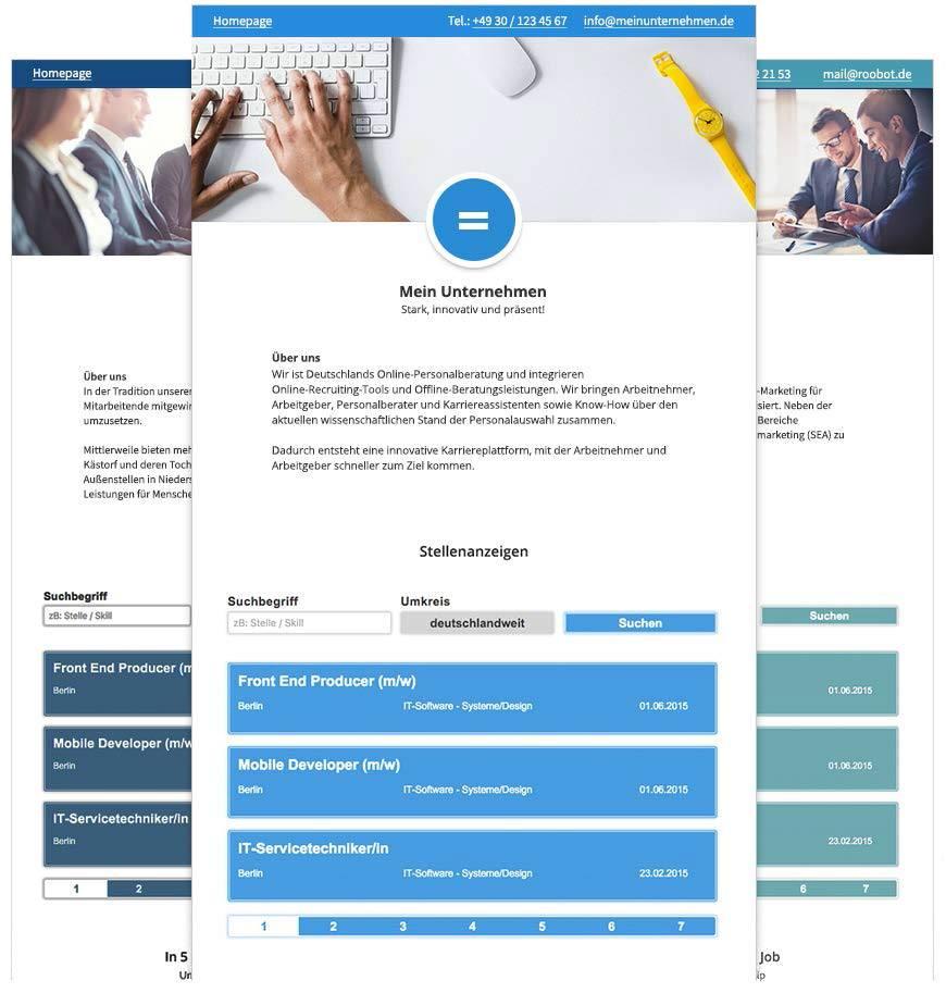 Die neue Karriereseite im Connectoor